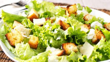 Ceasar salad at Take 2 Grill